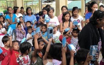 PHC Assistance to Typhoon Nina Victims: Solar Lanterns