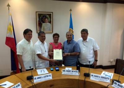 moa signing with deped