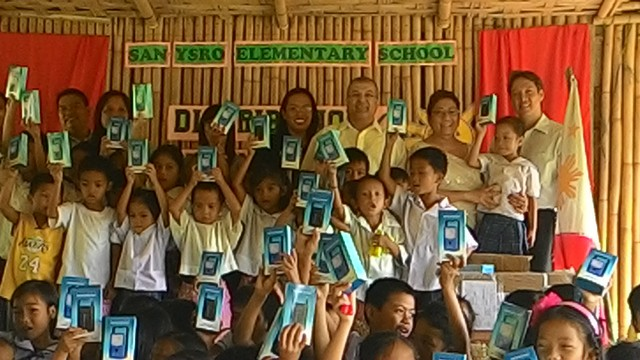 Solar Lamps Distribution with DepEd at San Ysro and Libis Elementary School