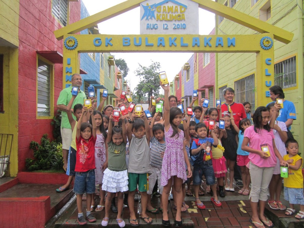 Thrive Solar Energy Philippines donates solar-powered lights to Gawad Kalinga Villages